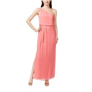 Adrianna by Adrianna Papell long pink dress